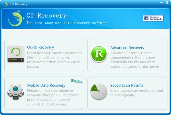 GT Recovery for Windows